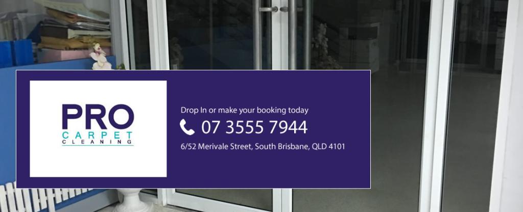 Pro Carpet Cleaning Brisbane - Phone 07 3555 7944
