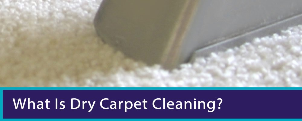 What Is Dry Carpet Cleaning